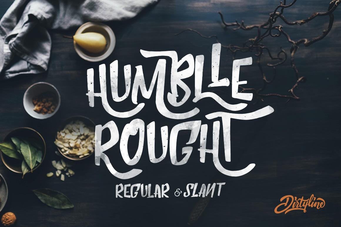 Humblle-Rought-freefont-onigrama-01