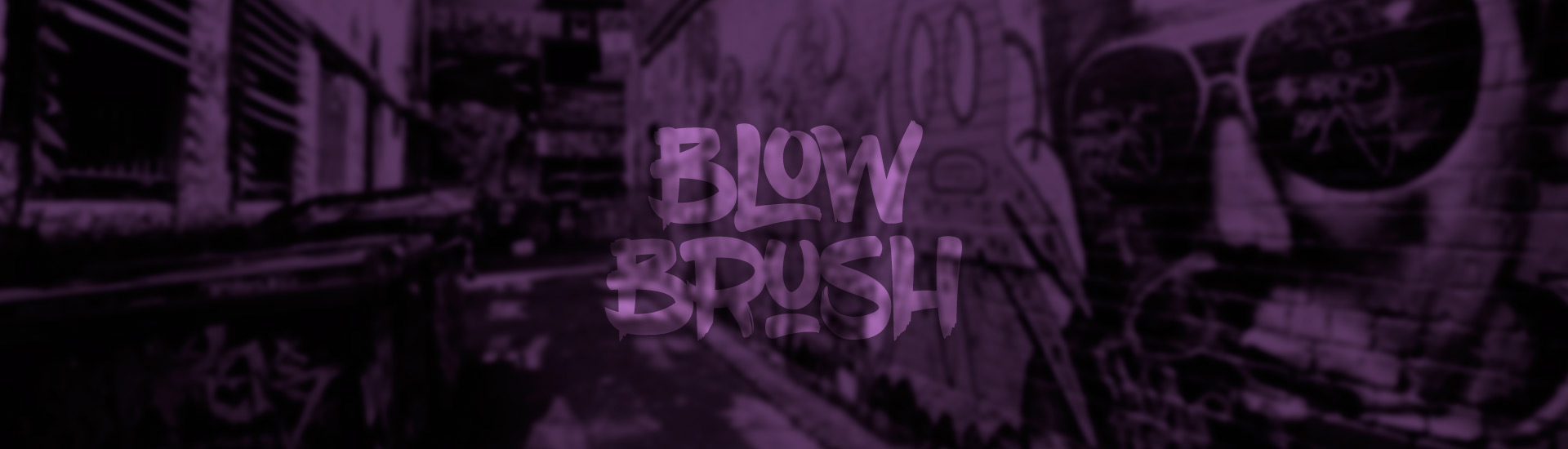 Fonte free – Blow Brush