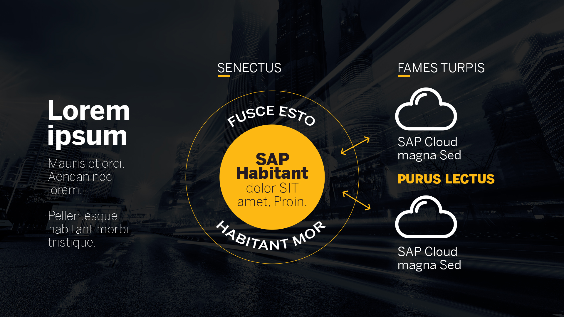 SAP Roadshow Digital Transformation Tour - Onigrama Apresentações de slides