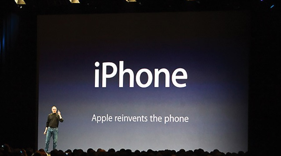 As técnicas de apresentações mais utilizadas por Steve Jobs - Hoje a Apple reinventa o telefone - Onigrama Apresentações