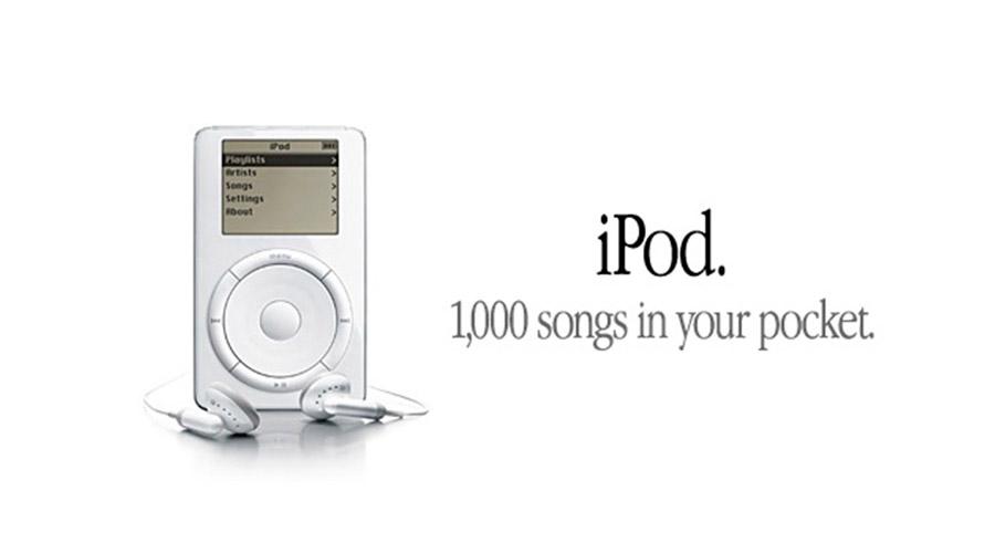 iPod. Mil músicas em seu bolso - Onigrama Apresentações