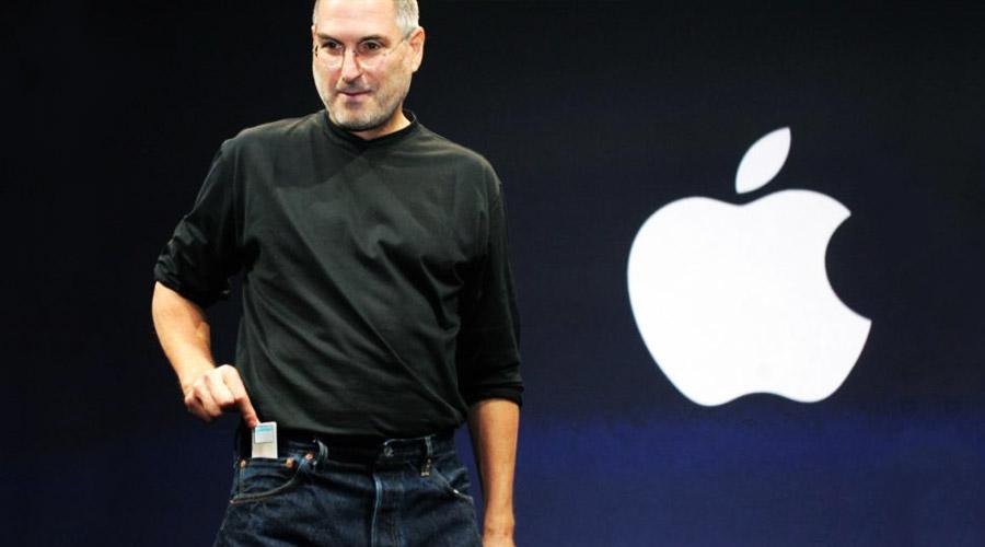 Momento memorável - iPod Apple - Steve Jobs - Onigrama Apresentações